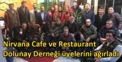 Nirvana Cafe ve Restaurant Dolunay Derneği üyelerini ağırladı