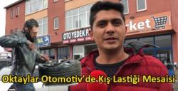 Oktaylar Otomotiv'de Kış Lastiği Mesaisi