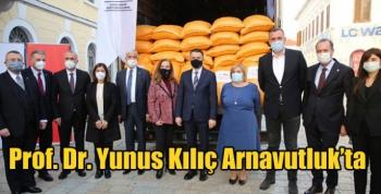 Prof. Dr. Yunus Kılıç Arnavutluk'ta