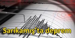 Sarıkamış'ta deprem