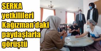SERKA yetkilileri Kağızman'daki paydaşlarla görüştü