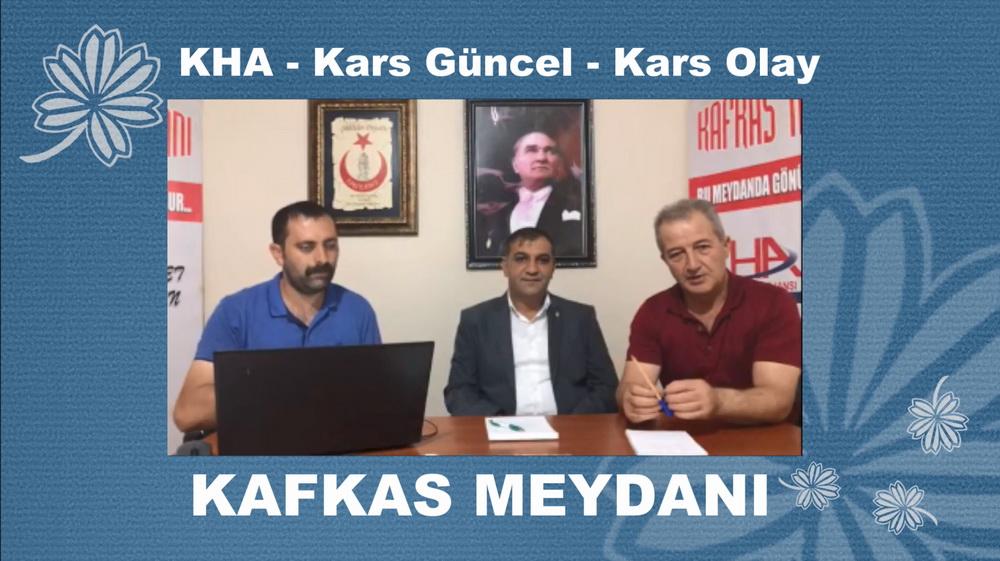 Kafkas Meydanı'nın bu haftaki canlı yayın konuğu Murat Bakırhan