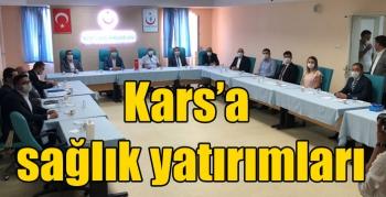 Kars'a sağlık yatırımları