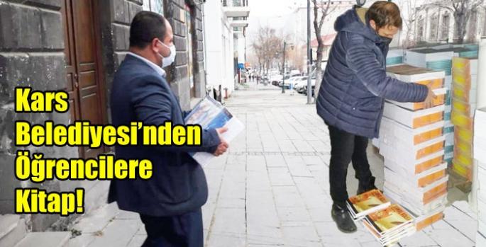 Kars Belediyesi'nden Öğrencilere Kitap!