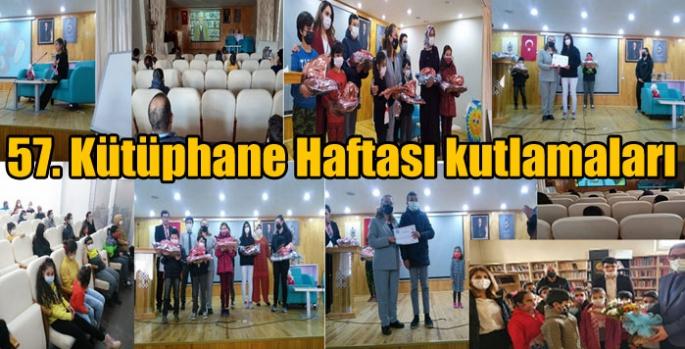 Kars'ta 57. Kütüphane Haftası kutlamaları