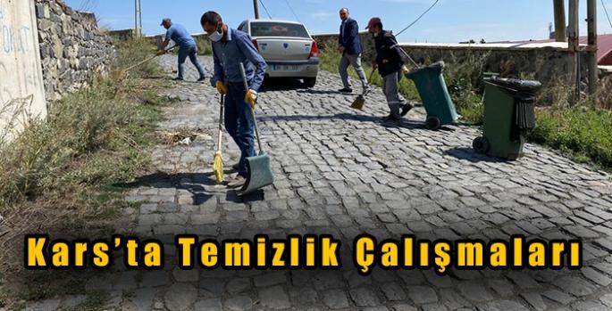 Kars'ta Temizlik Çalışmaları