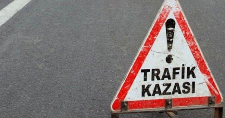Kars'ta Trafik Kazası 1 Ölü, 3 Yaralı