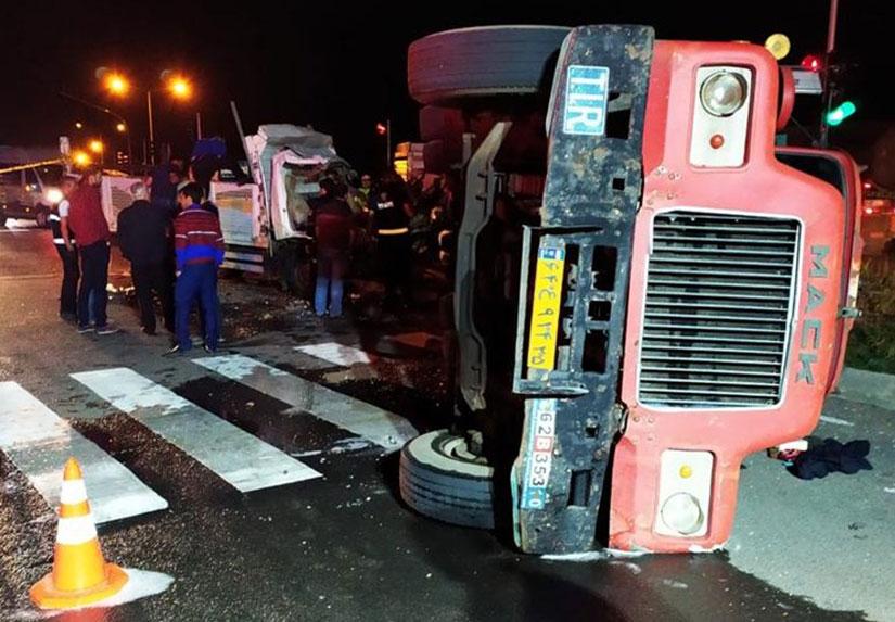 Kars'ta Trafik Kazası: 1 Ölü, 6 Yaralı