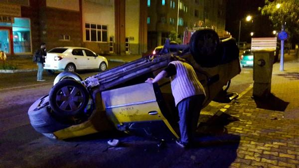Kars'ta yaralamalı trafik kazası