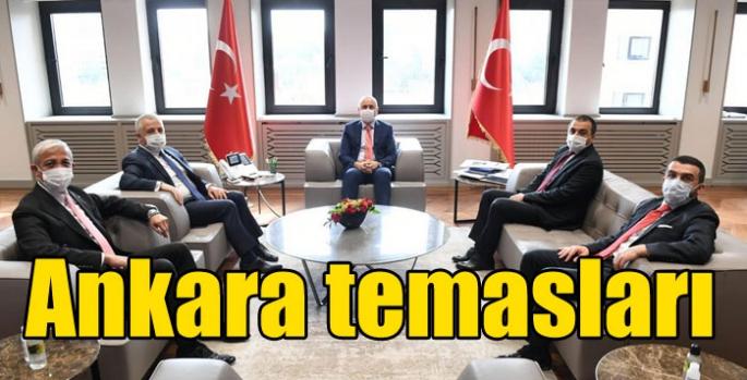 Kars Valisi Öksüz ve Milletvekillerinin Ankara Temasları