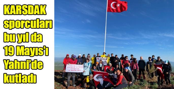KARSDAK sporcuları bu yıl da 19 Mayıs'ı Yahni'de kutladı