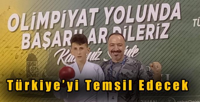 Karslı Batıkan Gökbulak Avrupa Karate Şampiyonasında Türkiye'yi Temsil Edecek