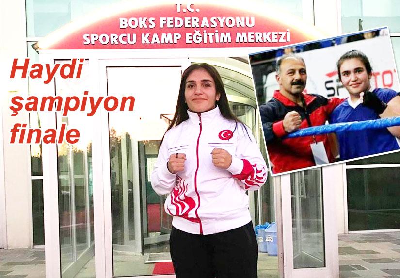 Karslı Elanur Sagit finalde