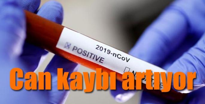 Koronavirüs salgınında can kaybı artıyor