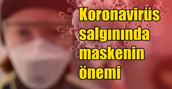 Koronavirüs salgınında maskenin önemi