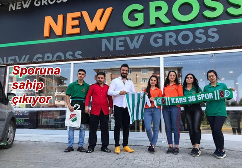 New Gross'dan Karsspor'a gıda desteği