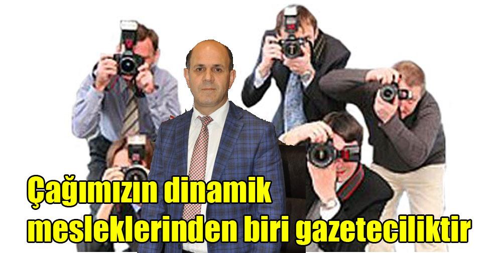 Rektör Özcan'ın 10 Ocak Çalışan Gazeteciler Günü Mesajı