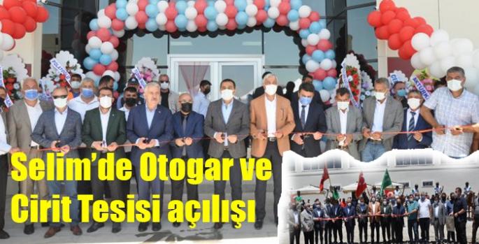 Selim'de Otogar ve Cirit Tesisi açılışı