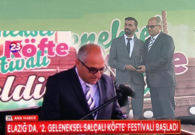 Subutay Kılıç Elazığda Salçalı Köfte Festivaline katıldı